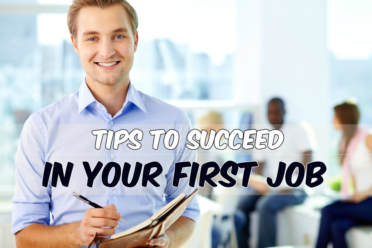 tips for your first job infographic