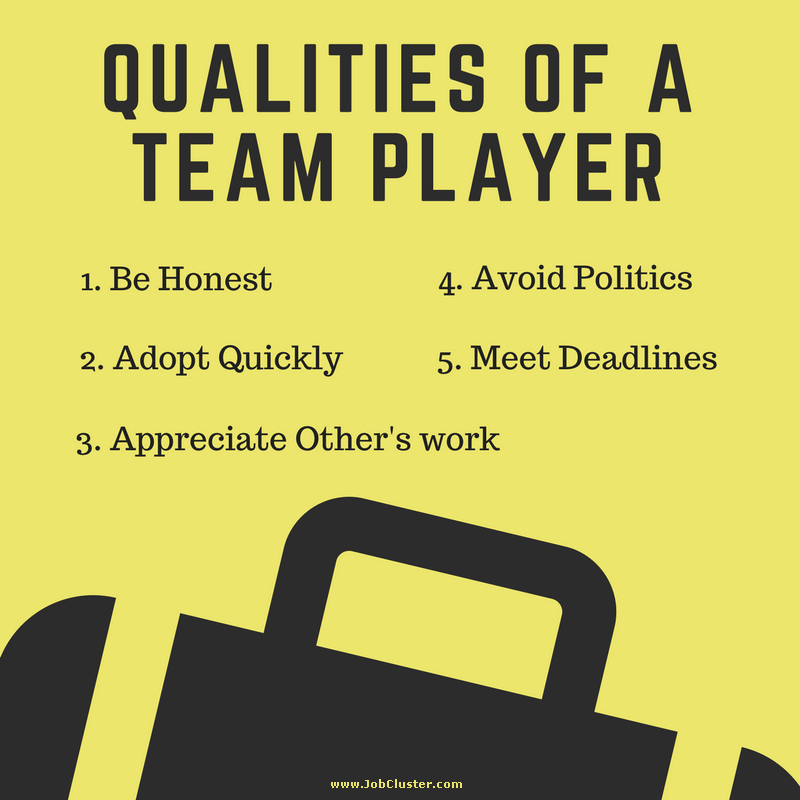 Qualities of a Team Player