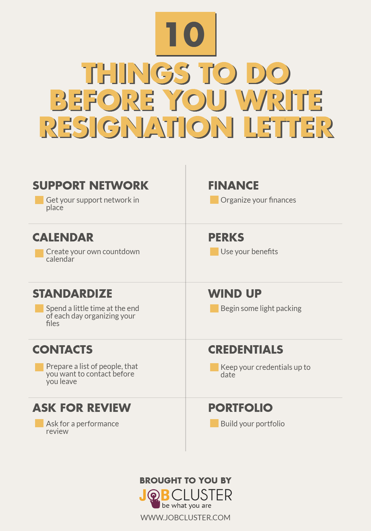Writing a resignation letter 10 things to do before writing the resign letter expocarfo