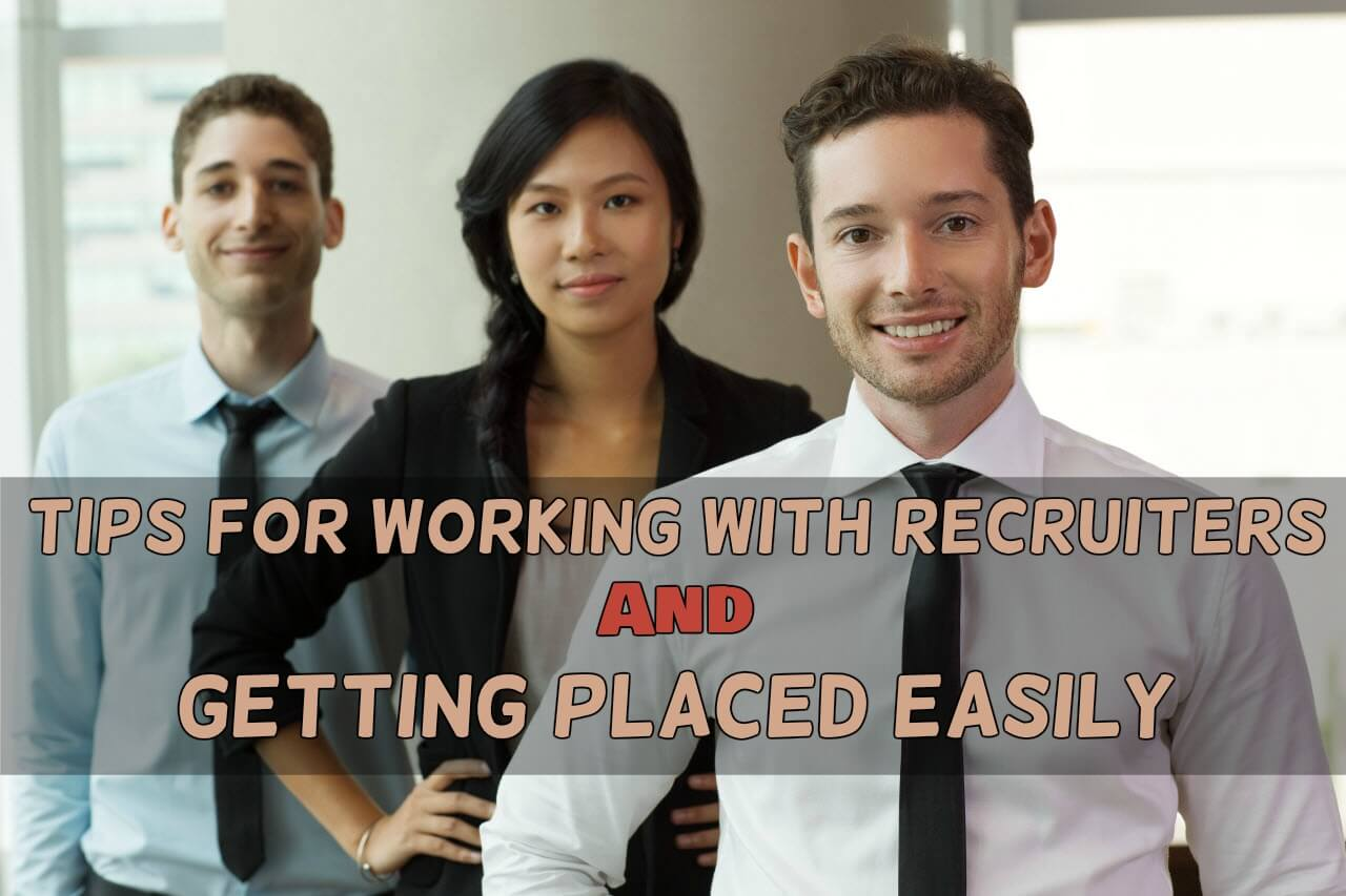 tips to work with recruiter