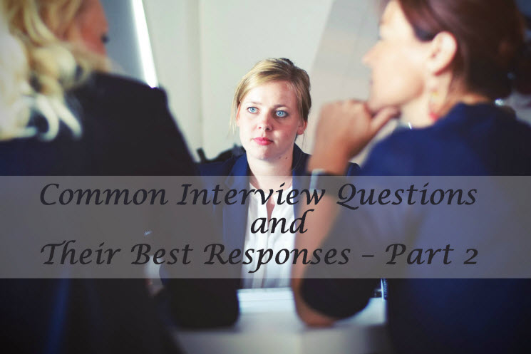 Common Interview Questions & Answers for Freshers
