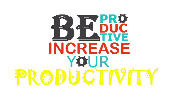 Strategies to be productive