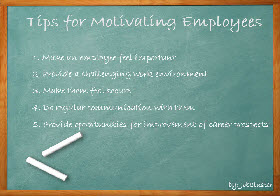 Tips for Motivating Employees