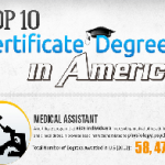 Top 10 Certificate Degrees in USA