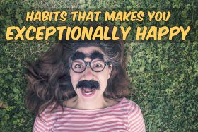 happy people habit