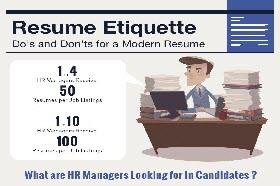Resume-Etiquettes
