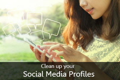 cleaning social accounts