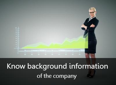 company financial information