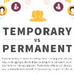 Choosing Between Temporary and Permanent Job Offers- Infographic