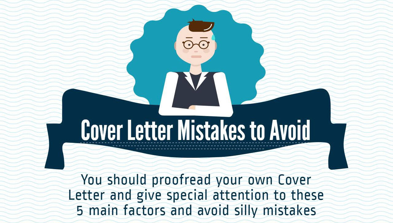 5 common cover letter mistakes to avoid infographic jobclustercom blog