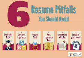 6 common resume pitfalls
