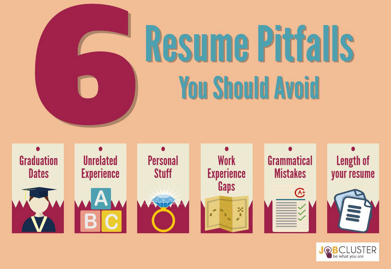 ... 6 Resume Pitfalls You Need To Take Off Your Resume  Cv Vs Resume