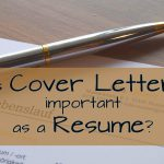Is Cover Letter Important as a Resume? (Guest Post)