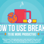 How to Use Break Times More Productively at Workplace- Infographic