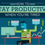 How To Stay Productive When You're Tired- Infographic