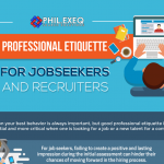 Professional Etiquette for Job Seekers and Recruiters – Infographic