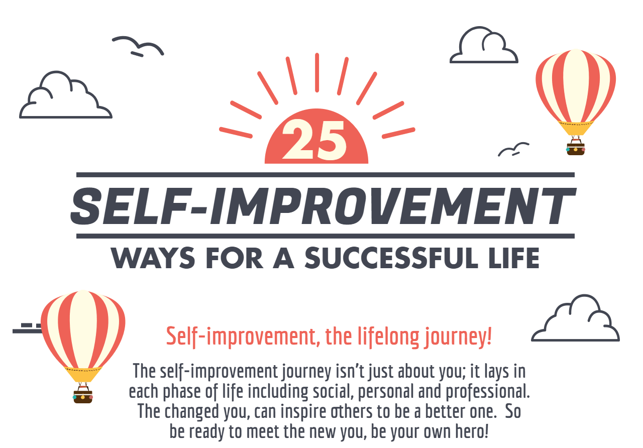 25 Proven Self Improvement Tips for a Successful Life