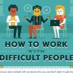 How to Get Along With Difficult Colleagues [INFOGRAPHIC]