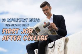 Tips to Getting Your First Job after College