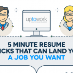5 Minute Resume Tricks to Land Your Dream Job- Infographic