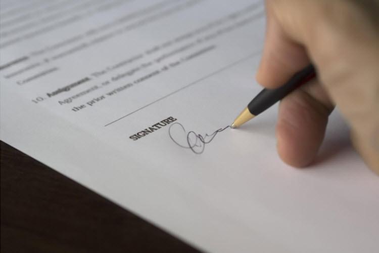 doing signature