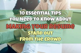 10 essential tips for making resume