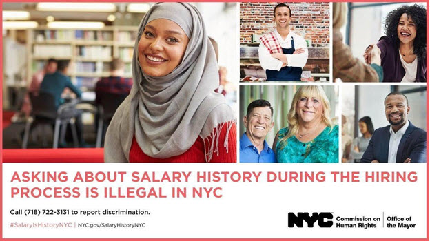 Asking about salary is illegal in NYC
