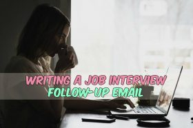 Creating a Job Interview Follow-up Email
