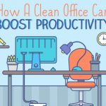 How a Clean Office Can Boost Productivity– Infographic