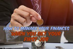 First job money management
