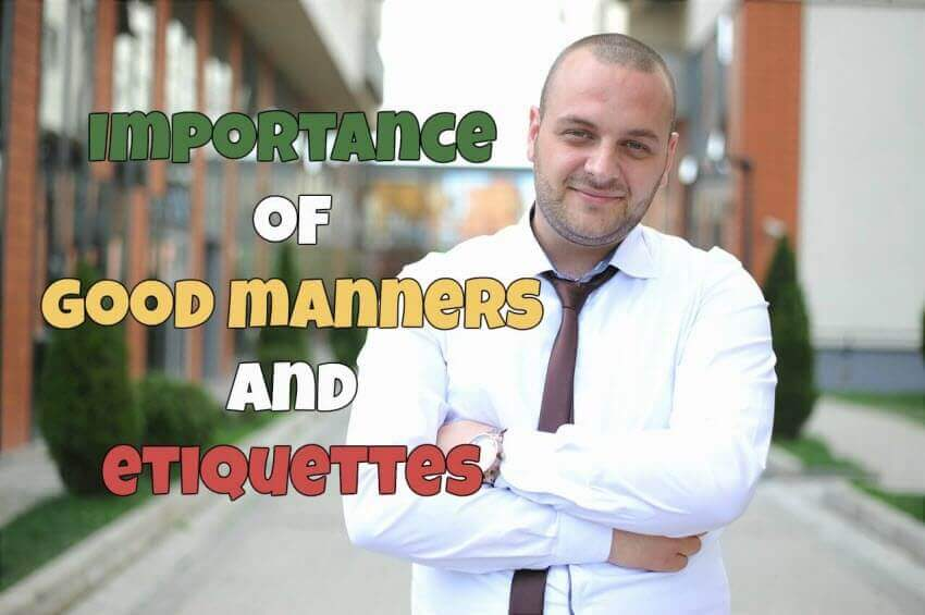 importance of good manners