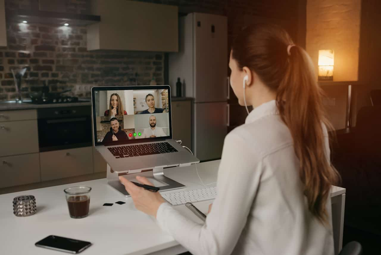 Remote Business Meeting while Work from Home