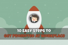 10 Easy Steps to Get Promoted at Workplace