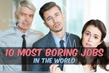 The 10 World's Most Boring Jobs