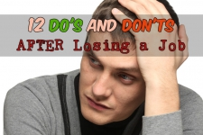 12 Do's and Don'ts After Losing a Job