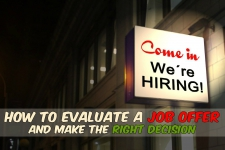 How to Evaluate a Job Offer and Make the Right Decision