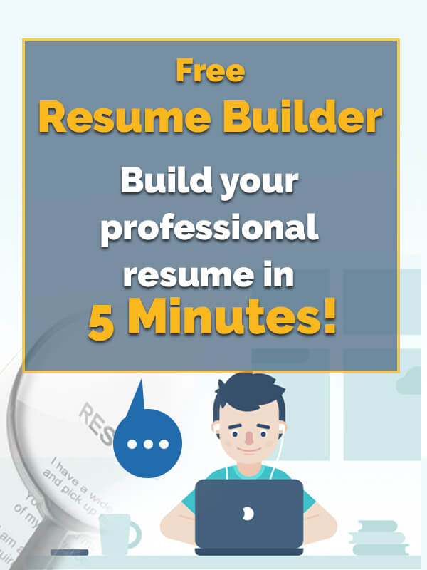 Build You Resume in 5 Minutes